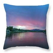 Magical Sunrise Throw Pillow