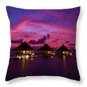 Magical Sunset Throw Pillow