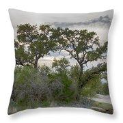 Magical Tree Throw Pillow