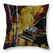 Magical Throw Pillow by Vickie Warner