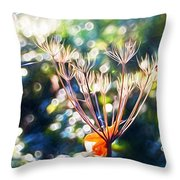 Magical Woodland - Impressions Throw Pillow