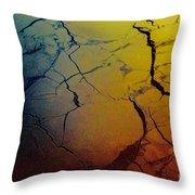 Magical Yellow 4 Throw Pillow