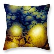 Magical Yellow 5 Throw Pillow