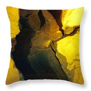 Magical Yellow 6 Throw Pillow