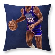 Magic's Return Throw Pillow by Jeremy Nash