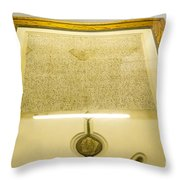 Magna Carta Throw Pillow