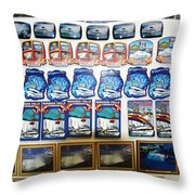 Magnetic Niagara Throw Pillow