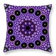 Magnetic Twins Throw Pillow