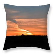 Magnificant Sky Throw Pillow