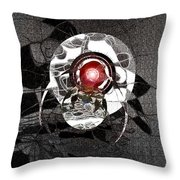 Magnificent Archer Throw Pillow