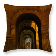 Magnificent Arches Throw Pillow by Al Bourassa