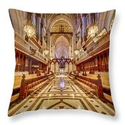 Magnificent Cathedral Iv Throw Pillow