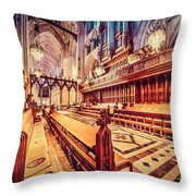Magnificent Cathedral Throw Pillow