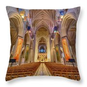 Magnificent Cathedral V Throw Pillow