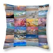 Magnificent Coastal North Carolina Throw Pillow