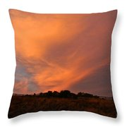 Magnificent Evening Throw Pillow