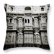 Ancient Jaisalmer Throw Pillow