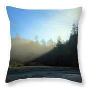 Magnificent Light One Throw Pillow