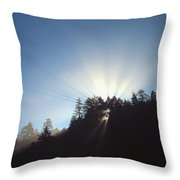 Magnificent Light Two Throw Pillow
