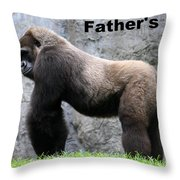 Magnificent Male Throw Pillow