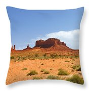 Magnificent Monument Valley Throw Pillow
