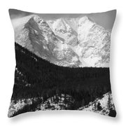 Magnificent Mountain Throw Pillow