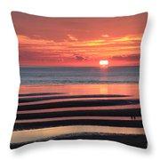 Magnificent Sunset Throw Pillow