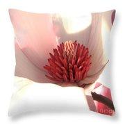 Magnolia Blossom - Square Format Throw Pillow