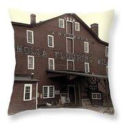 Magnolia Flouring Mill Throw Pillow