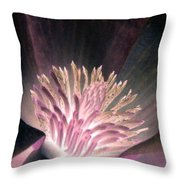 Magnolia Flower - Photopower 1821 Throw Pillow