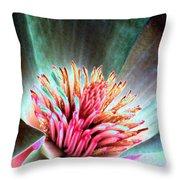 Magnolia Flower - Photopower 1841 Throw Pillow