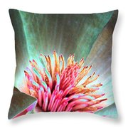 Magnolia Flower - Photopower 1843 Throw Pillow
