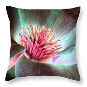 Magnolia Flower - Photopower 1844 Throw Pillow