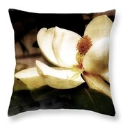 Magnolia IIi Throw Pillow by Tanya Jacobson-Smith