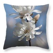 Magnolia Magnificence  3245 Throw Pillow