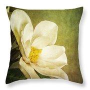 Magnolia Morning Throw Pillow