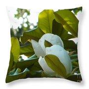 Magnolia Pair Throw Pillow