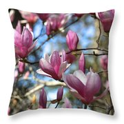 Magnolia Perspective Throw Pillow