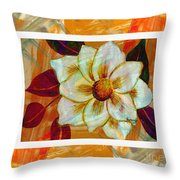 Magnolia Seduction Throw Pillow