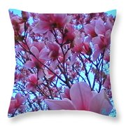 Magnolia Sky 2 Throw Pillow