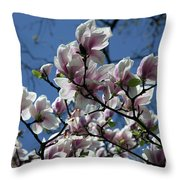 Magnolia Twig Throw Pillow