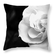 Magnolia With Leaves Throw Pillow