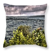 Mahanoy Mountain  Throw Pillow