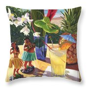 Mai Tai Throw Pillow