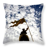 Maid Of New Orleans Throw Pillow
