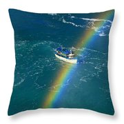 Maid Of The Mist Iv Throw Pillow