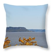 Maiden Rock Throw Pillow