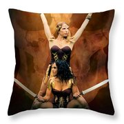 Maidens Of The Killing Fields Throw Pillow