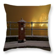 Mail Post Throw Pillow