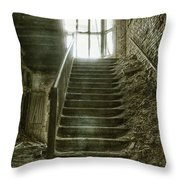 Main Staircase Throw Pillow